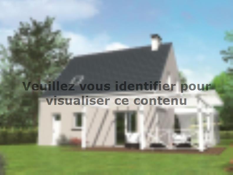 Modèle de maison Avant-projet MULSANNE - 95 m2 - 4 Chambres : Vignette 2
