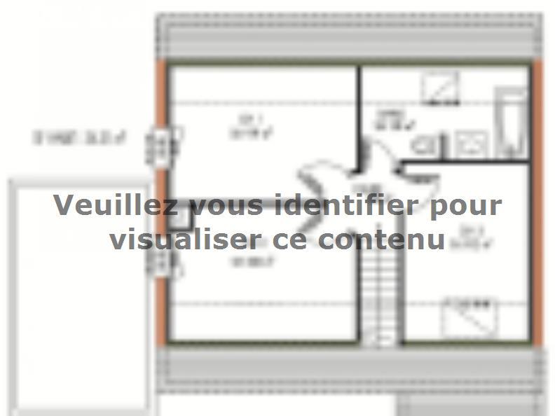 Plan de maison Avant-projet MULSANNE - 95 m2 - 4 Chambres : Vignette 2