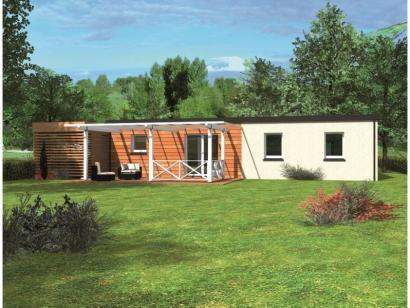 Modèle de maison Avant-projet PRUILLE LE CHETIF - 103 m2 - 5 Chambr 5 chambres  : Photo 2
