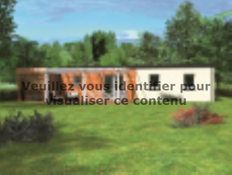 Modèle de maison Avant-projet PRUILLE LE CHETIF - 103 m2 - 5 Chambr : Vignette 2