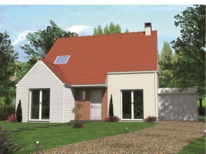 Modèle de maison Avant-projet ROUILLON - 107m2 - 4 chambres 4 chambres  : Photo 1