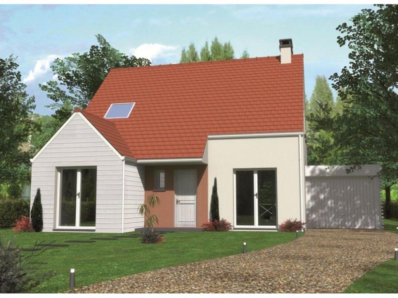 Modèle de maison Avant-projet ROUILLON - 107m2 - 4 chambres : Vignette 1