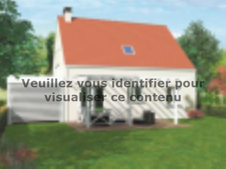 Modèle de maison Avant-projet ROUILLON - 107m2 - 4 chambres : Vignette 2