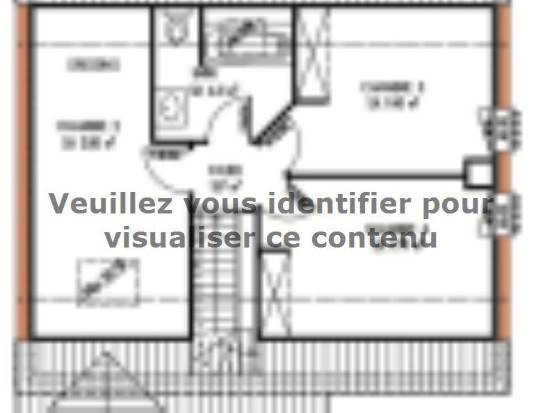 Plan de maison Avant-projet ROUILLON - 107m2 - 4 chambres : Vignette 2