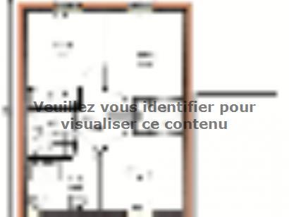 Plan de maison Avant-projet RUAUDIN - 75 m2 - 3 Chambres 3 chambres  : Photo 2