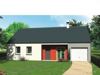 Modèle de maison Avant-projet SABLE SUR SARTHE - 87 m2 - 4 Chambres 4 chambres  : Photo 1