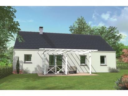 Modèle de maison Avant-projet SABLE SUR SARTHE - 87 m2 - 4 Chambres 4 chambres  : Photo 2