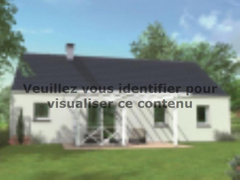Modèle de maison Avant-projet SABLE SUR SARTHE - 87 m2 - 4 Chambres : Vignette 2