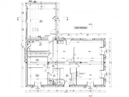 Plan de maison GLYCINE C2G-160 5 chambres  : Photo 1