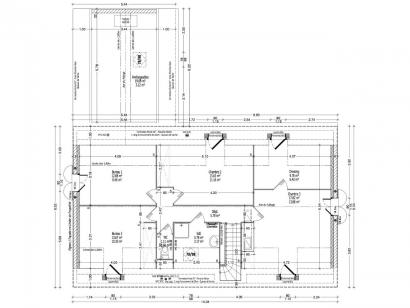 Plan de maison GLYCINE C2G-160 5 chambres  : Photo 2