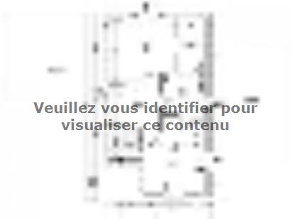 Plan de maison PERCE NEIGE C2G-107 3 chambres  : Photo 2