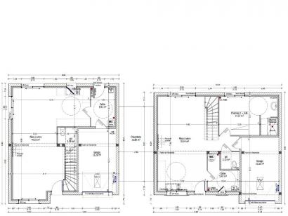 Plan de maison EDELWEISS C2G-195  : Photo 1