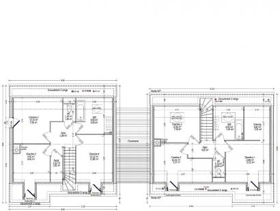 Plan de maison EDELWEISS C2G-195  : Photo 2