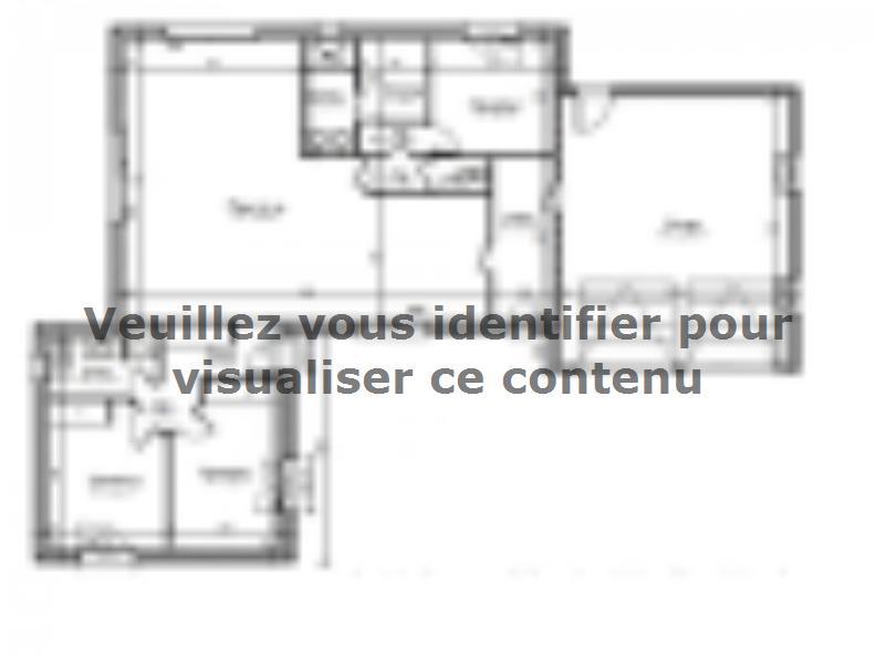 Plan de maison AVANT PROJET CHAMPAGNE - PP 114 M² - 3 chambres : Vignette 1