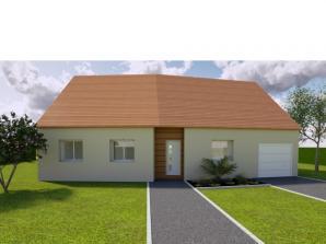 AVANT PROJET SAINMARS - PP - 88 m² - 3 chambres