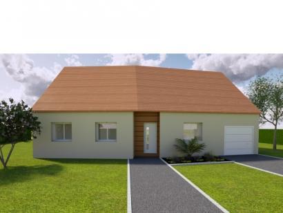 Modèle de maison AVANT PROJET SAINMARS - PP - 88 m² - 3 chambres 3 chambres  : Photo 1