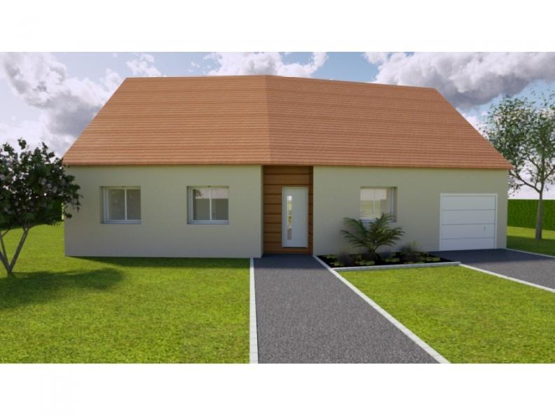 Modèle de maison AVANT PROJET SAINMARS - PP - 88 m² - 3 chambres : Vignette 1