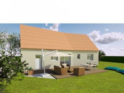 Modèle de maison AVANT PROJET SAINMARS - PP - 88 m² - 3 chambres 3 chambres  : Photo 2