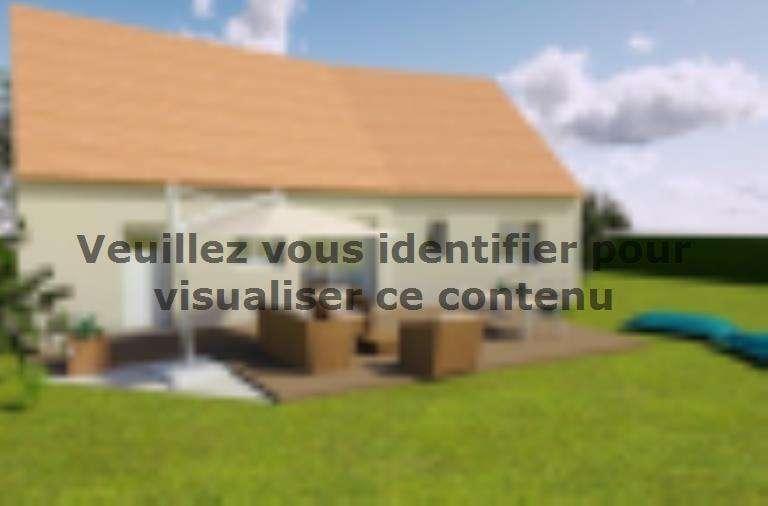 Modèle de maison AVANT PROJET SAINMARS - PP - 88 m² - 3 chambres : Vignette 2