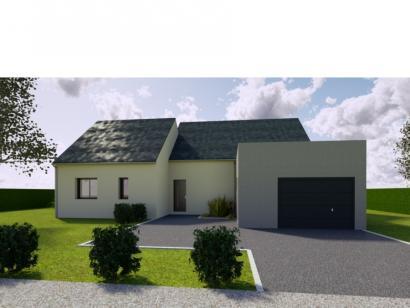 Modèle de maison AVANT PROJET SAINT PAVACE - 100 m² - 3 chambres 3 chambres  : Photo 1