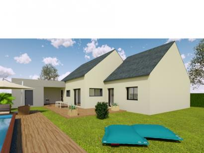 Modèle de maison AVANT PROJET SAINT PAVACE - 100 m² - 3 chambres 3 chambres  : Photo 2