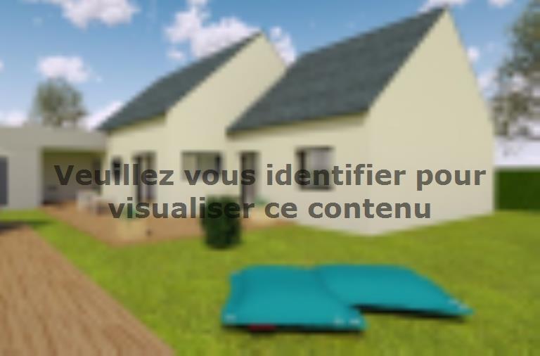 Modèle de maison AVANT PROJET SAINT PAVACE - 100 m² - 3 chambres : Vignette 2