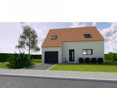 Modèle de maison AVANT PROJET SARGE - Etage - 91 m² - 3 ch 3 chambres  : Photo 1