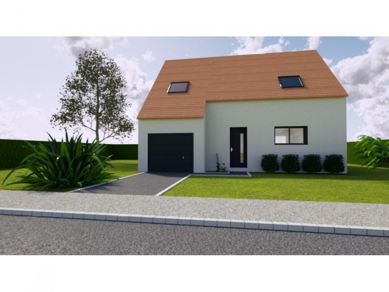 Modèle de maison AVANT PROJET SARGE - Etage - 91 m² - 3 ch : Vignette 1