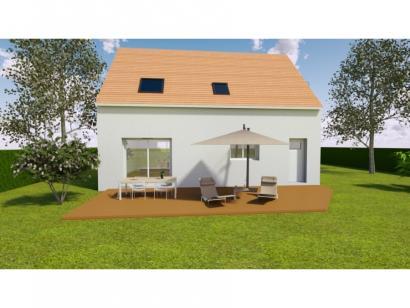 Modèle de maison AVANT PROJET SARGE - Etage - 91 m² - 3 ch 3 chambres  : Photo 2