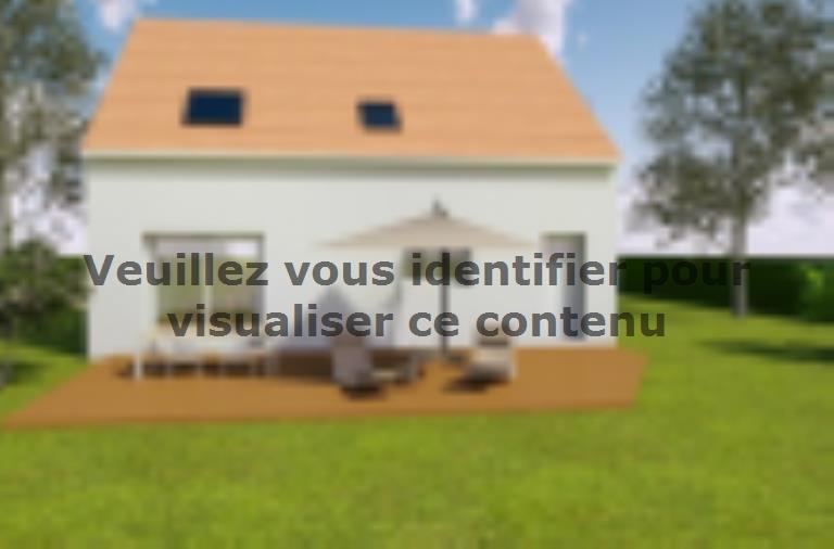 Modèle de maison AVANT PROJET SARGE - Etage - 91 m² - 3 ch : Vignette 2