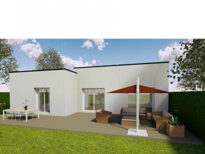 Modèle de maison AVANT PROJET VAAS - 103 M²  - 2 chambres et 1 bure 3 chambres  : Photo 2