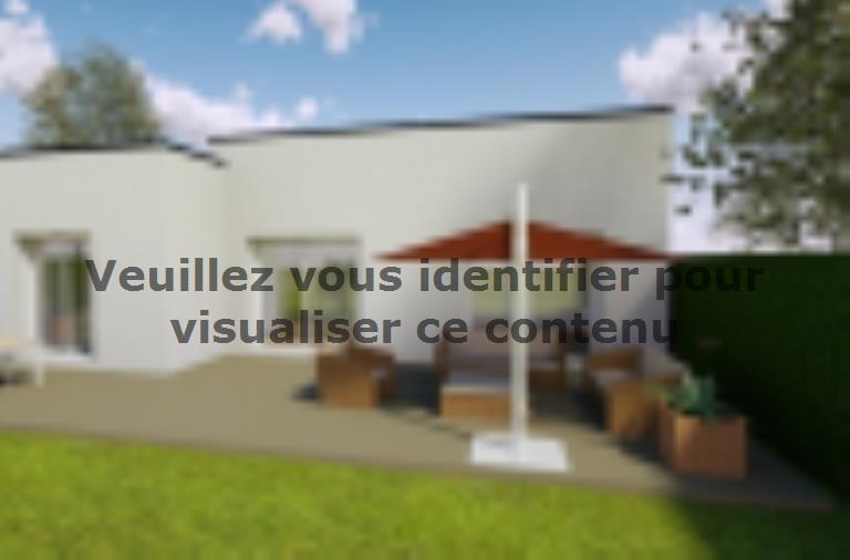 Modèle de maison AVANT PROJET VAAS - 103 M²  - 2 chambres et 1 bure : Vignette 2