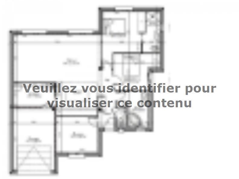 Plan de maison AVANT PROJET VAAS - 103 M²  - 2 chambres et 1 bure : Vignette 1