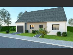 AVANT PROJET VIBRAYE - 76 m² - 2 ch CA