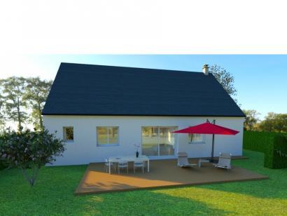 Modèle de maison AVANT PROJET VIBRAYE - 76 m² - 2 ch CA 2 chambres  : Photo 2
