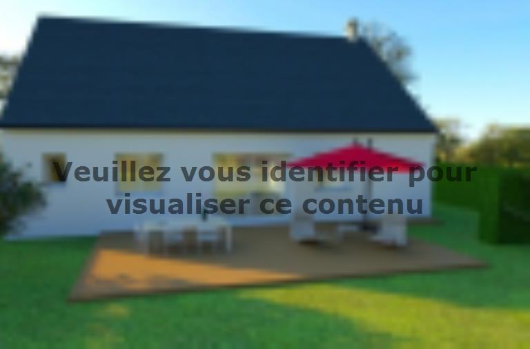 Modèle de maison AVANT PROJET VIBRAYE - 76 m² - 2 ch CA : Vignette 2