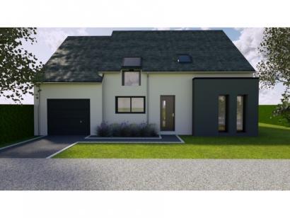 Modèle de maison Avant-projet Fay - 105 m² - 4 chambres 4 chambres  : Photo 1