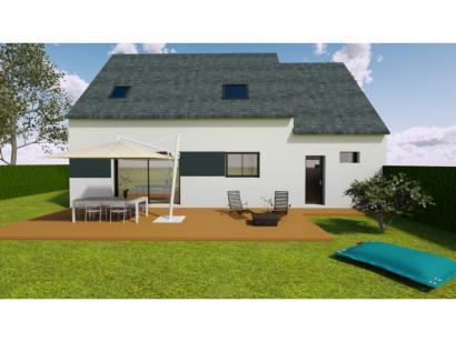 Modèle de maison Avant-projet Fay - 105 m² - 4 chambres 4 chambres  : Photo 2