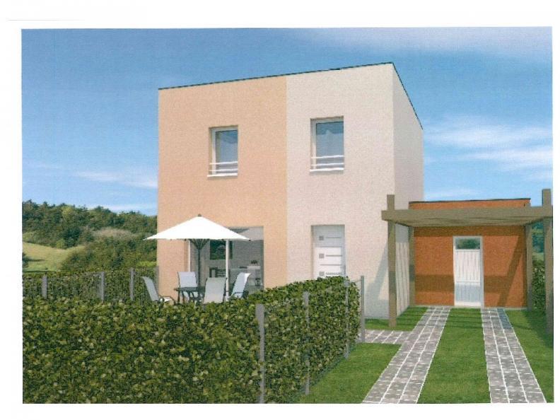 Modèle de maison AVANT PROJET ZAC CARTOUCHERIE LE MANS - lot 103 - : Vignette 1