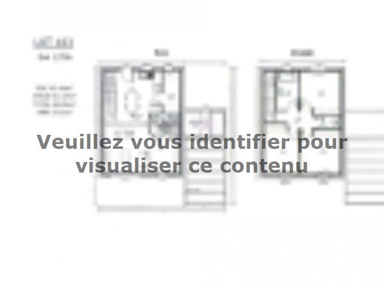 Plan de maison AVANT PROJET ZAC CARTOUCHERIE LE MANS - lot 103 - : Vignette 1