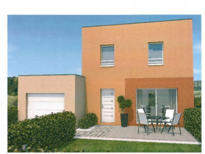 Modèle de maison AVANT PROJET ZAC CARTOUCHERIE LE MANS - Lot 104 - 3 chambres  : Photo 2