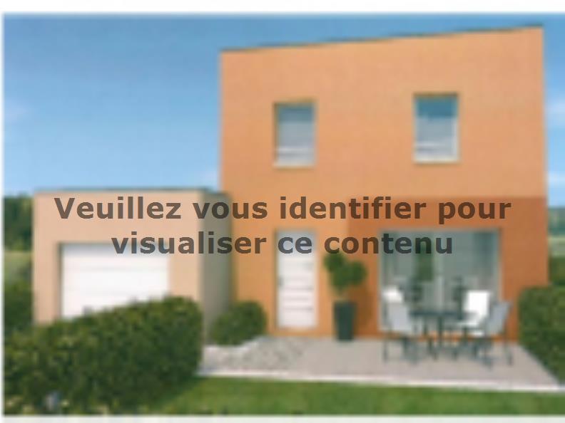 Modèle de maison AVANT PROJET ZAC CARTOUCHERIE LE MANS - Lot 104 - : Vignette 2