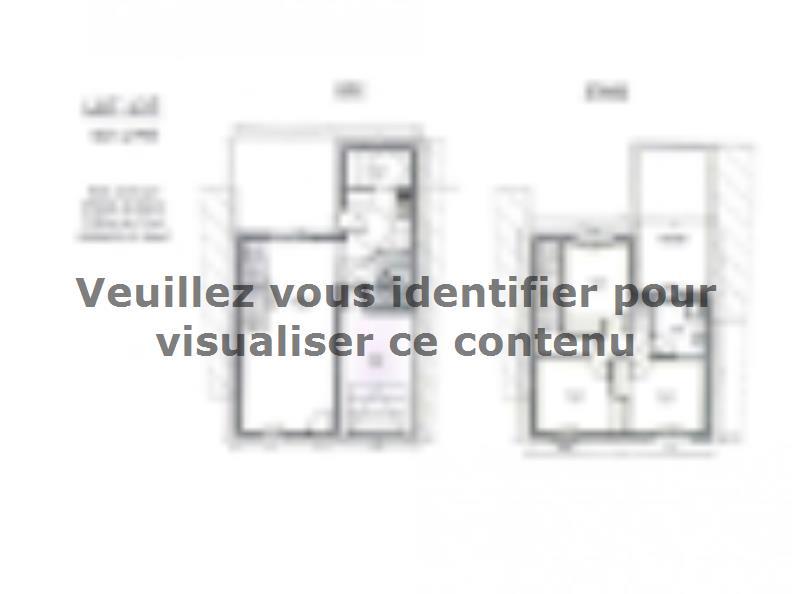 Plan de maison AVANT PROJET ZAC CARTOUCHERIE LE MANS - Lot 137 - : Vignette 1