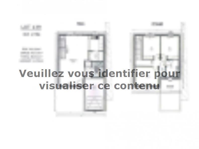 Plan de maison AVANT PROJET ZAC CARTOUCHERIE LE MANS Lot 139 - 90 : Vignette 1