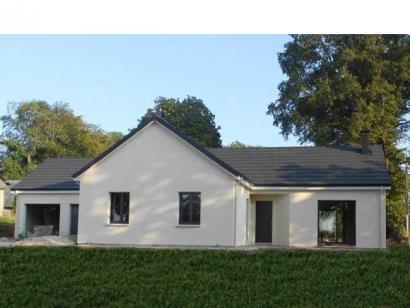 Modèle de maison PLP_L_GA_104m2_4ch_P13268 4 chambres  : Photo 1