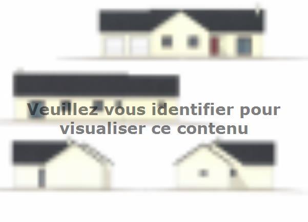Plan de maison PLP_L_GA_104m2_4ch_P13268 : Vignette 1