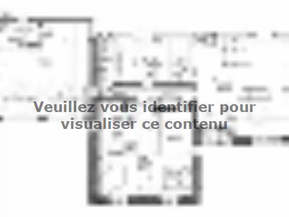 Plan de maison PLP_L_GA_104m2_4ch_P13268 4 chambres  : Photo 2