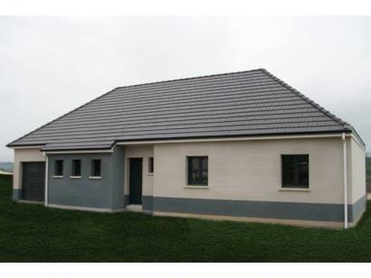 Modèle de maison ETG_BW_GI_CA_110m2_3ch_P13345 3 chambres  : Photo 1