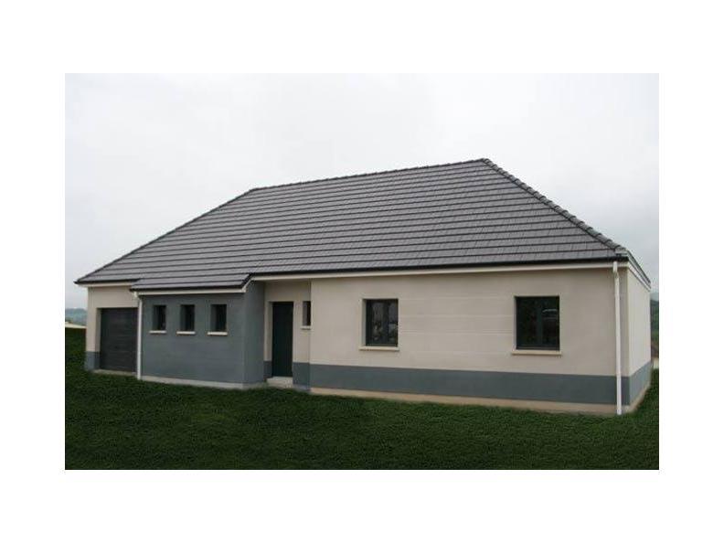 Modèle de maison ETG_BW_GI_CA_110m2_3ch_P13345 : Vignette 1