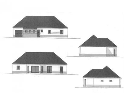 Plan de maison ETG_BW_GI_CA_110m2_3ch_P13345 3 chambres  : Photo 2